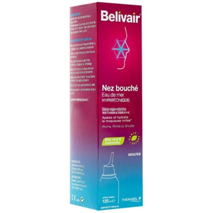 Nez bouché spray nasal adultes - 125 ml Belivair-205906