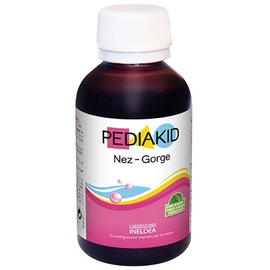 Nez gorge sirop - 125.0 ml - pédiakid - pediakid Dégager, apaiser et protéger les voies respiratoires-10954