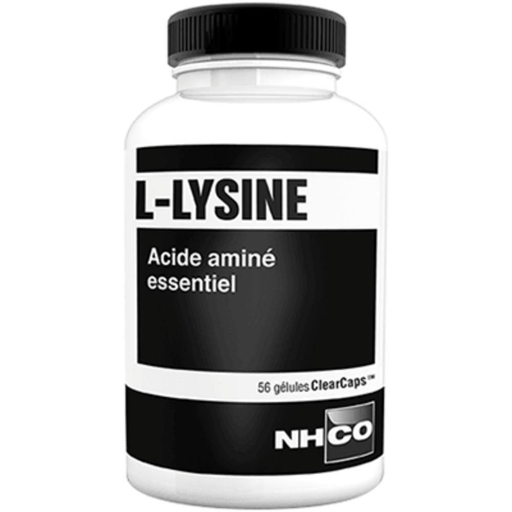 Nhco l-lysine 56 gélules clearcaps - nhco -221314