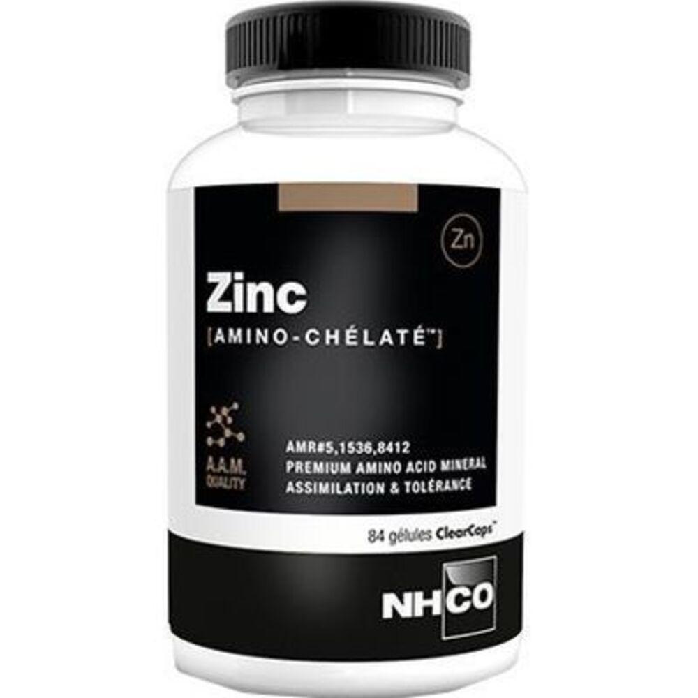 Nhco zinc amino-chelaté 84 gélules - 84.0 u - nhco -222790