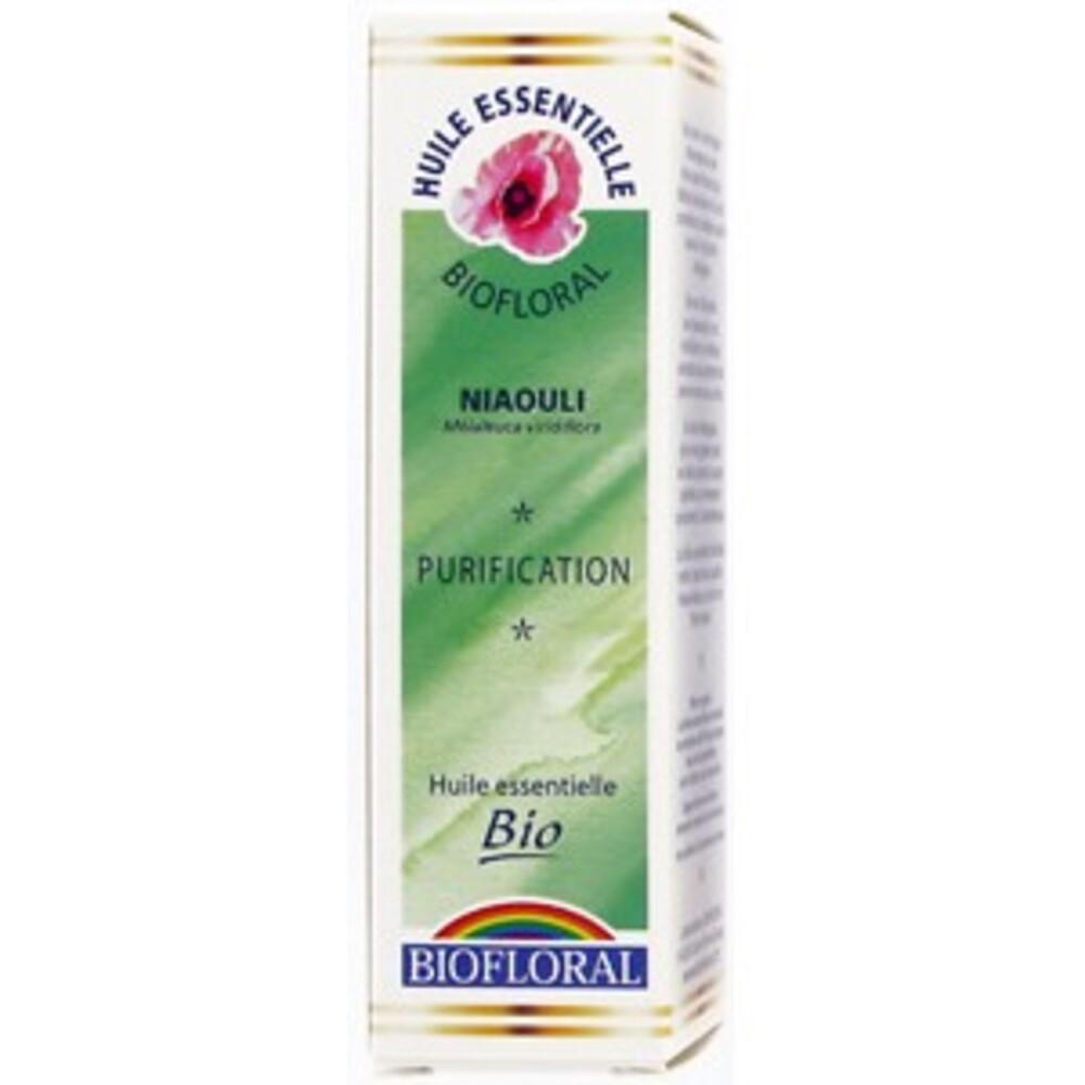 Niaouli bio - 10.0 ml - les huiles essentielles bio - biofloral Désencombrer la sphère O.R.L.-8837