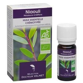 Niaouli bio - 10.0 ml - les huiles essentielles bio - dr. valnet Voies respiratoires - urinaires-15161