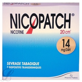 Nicopatch 14mg/24h - 7 patchs - pierre fabre -194077