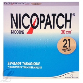 Nicopatch 21mg/24h - 7 patchs - pierre fabre -194062