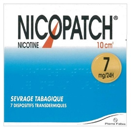 Nicopatch 7mg/24h - 7 patchs - pierre fabre -206847
