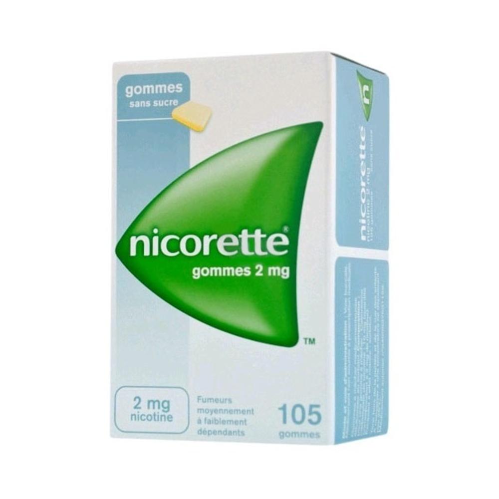 Nicorette 2mg sans sucre - 105 gommes - johnson & johnson -194057