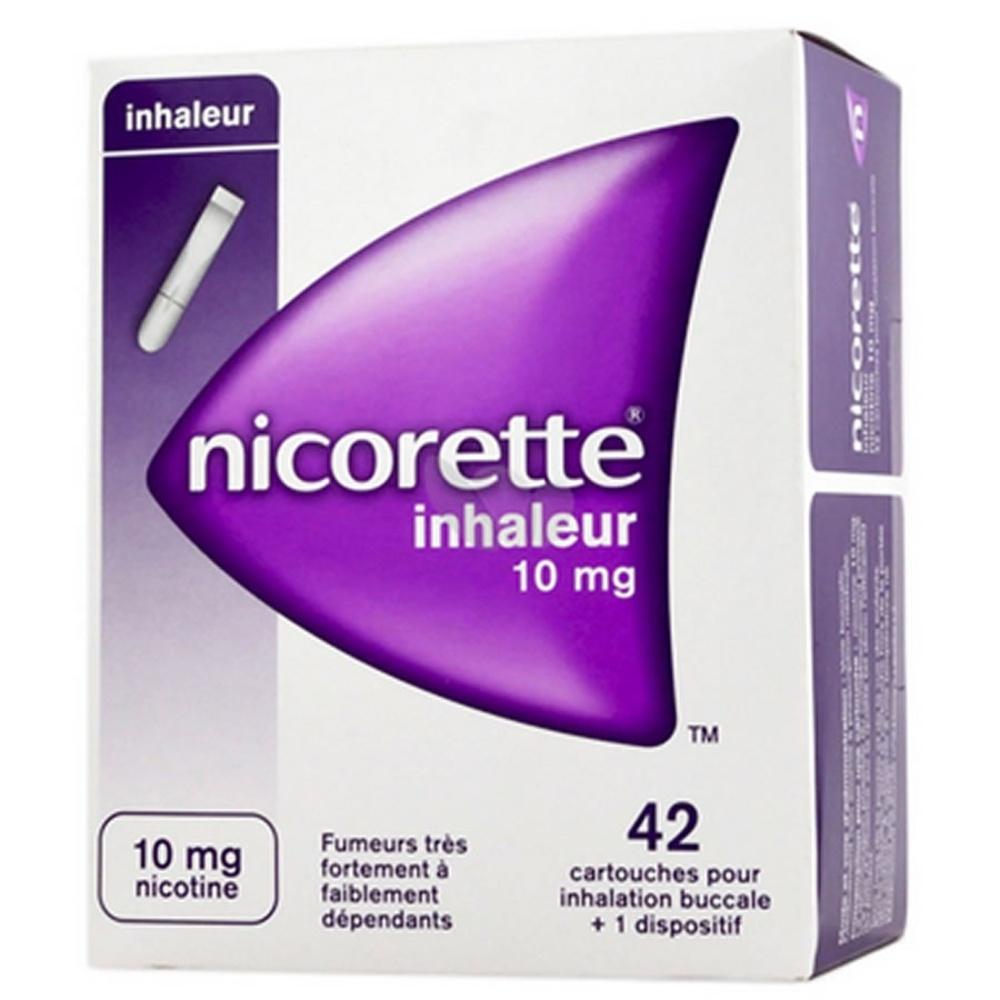 Prix de NICORETTE INHALEUR 10mg CART INH BUCC B/42