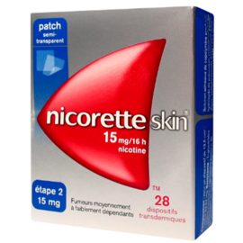 Nicoretteskin 25mg/16h - 7 patchs - johnson & johnson -206848