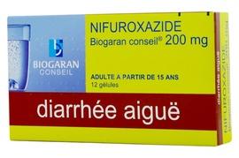 Nifuroxazide  conseil 200mg - 12 gélules - biogaran -192617