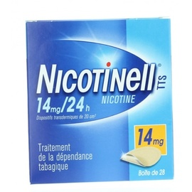 Niquitin 14mg/24h - 28 patchs - laboratoire gsk -206850
