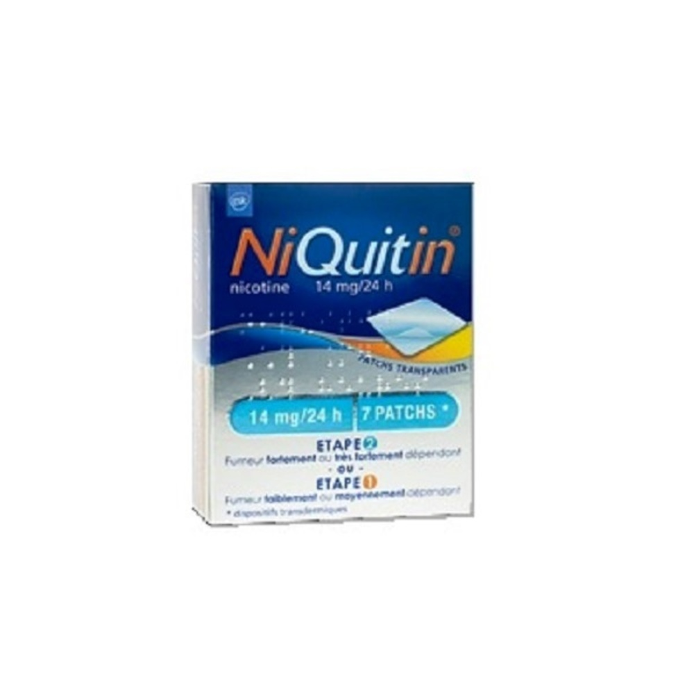 Niquitin 14mg/24h - 7 patchs - laboratoire gsk -206851