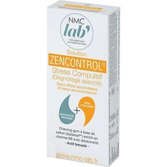 Nmc lab solution zencontrol gommes à mâcher x10 Nmc lab-227076