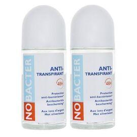Nobacter anti-transpirant lot de 2 x 50ml - nobacter -219387