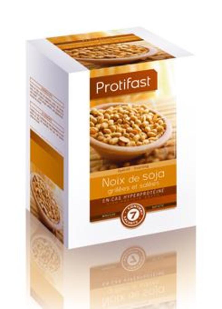 Noix soja grilles x7 - protifast Noix de soja 100 % protéines végétales-149845
