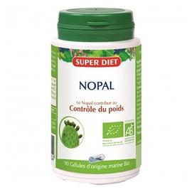 Nopal - 90 gelules - 90.0 unites - les gélules de plantes bio - super diet Contrôle du poids-140599