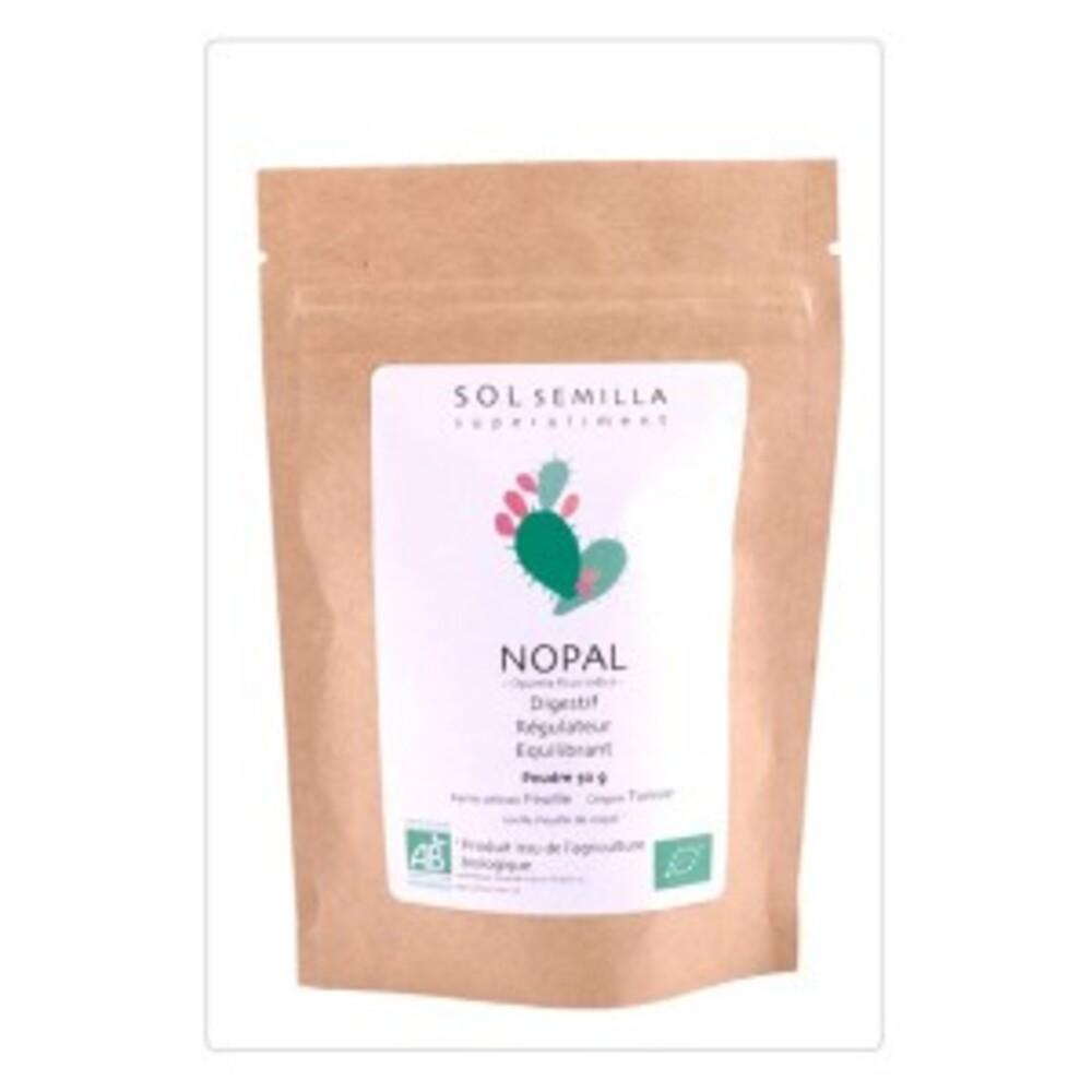 Nopal poudre bio - 50 g - divers - sol semilla -142660