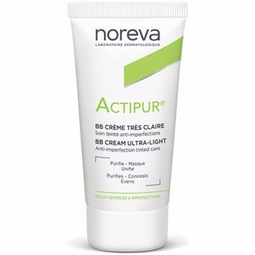 Noreva actipur bb crème ultra claire 30ml - noreva -216823