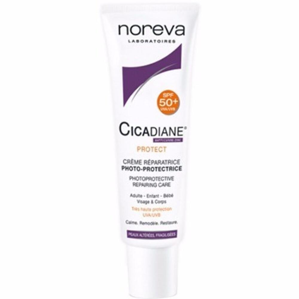 NOREVA Cicadiane Protect Crème Réparatrice SPF50 40ml - 40.0 ML - Noreva -210079