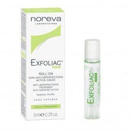 Noreva exfoliac roll-on soin anti-imperfections 5ml - noreva -220401