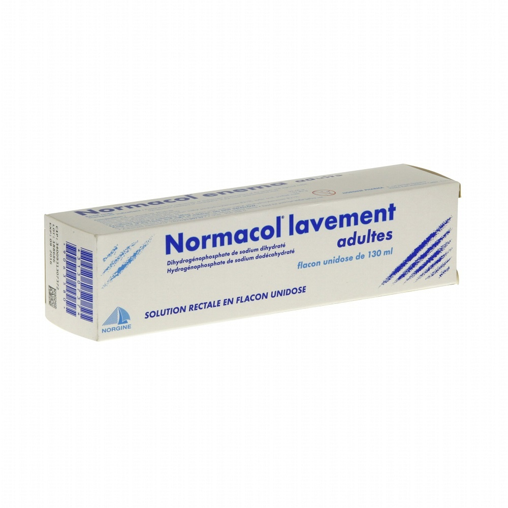 Normacol lavement adultes Norgine pharma-192225