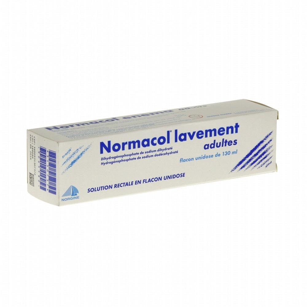 Normacol lavement adultes - 130.0 ml - norgine pharma -192225