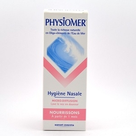 Nourrissons micro-diffusion - 115.0 ml - hygiène nasale - physiomer -141439
