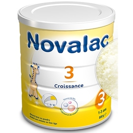 Novalac 3 lait croissance - 800g - 800.0 g - novalac -148097