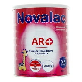 Novalac ar+ lait 1er âge 0-6mois 800g - novalac -219707