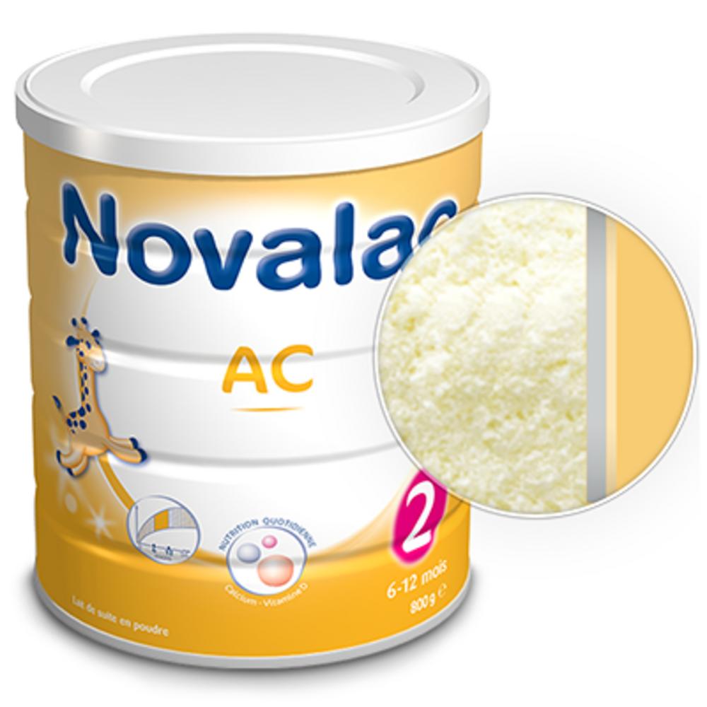 Novalac lait en poudre ac 2 - 6-12 mois 800g - 800.0 g - novalac -210064