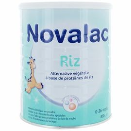 Novalac riz lait infantile 0-36 mois 800g - 800.0 g - novalac -148282