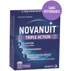Novanuit triple action 30 comprimés - 30.0 unites - sanofi -141416