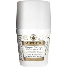 Nuage de fraîcheur - roll-on - 50.0 ml - corps - sanoflore Convient aux peaux sensibles-121343