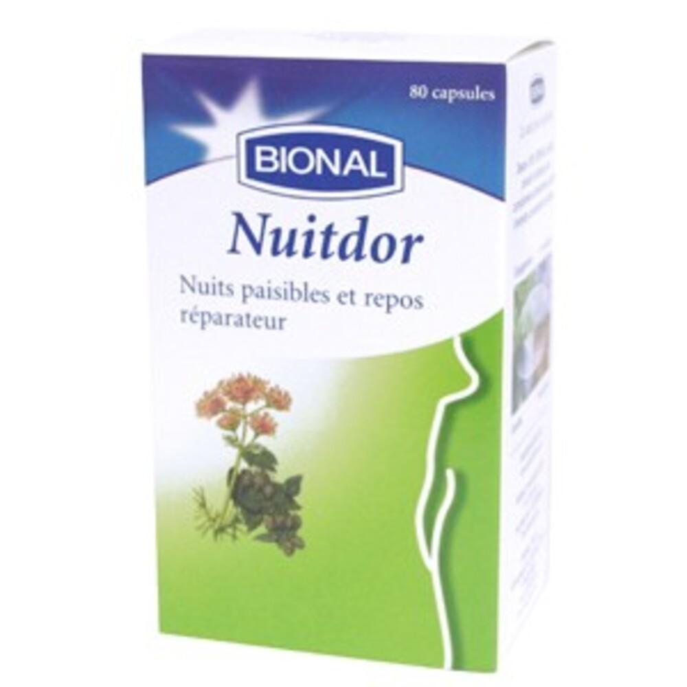 Nuitdor - 80.0 unites - stress et mémoire - bional Repos et sommeil-1353