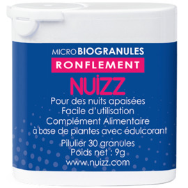 Nuizz ronflements 30 microbiogranules - nuizz -220673