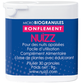 Nuizz ronflements 30 microbiogranules - nuizz -220673