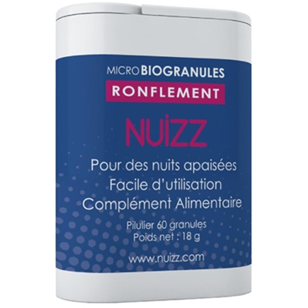 Nuizz ronflements 60 microbiogranules - nuizz -203900