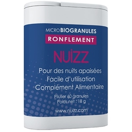 Nuizz ronflements 60 microbiogranules - nuizz -203900
