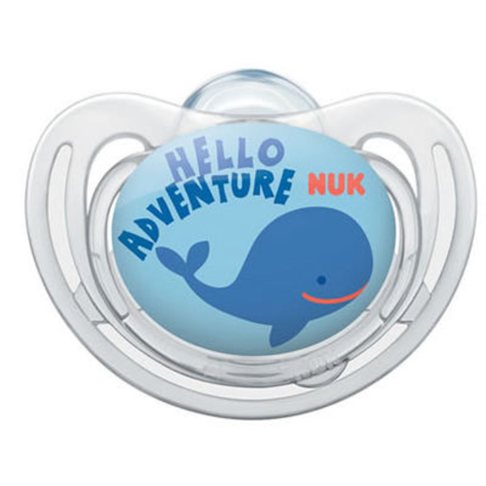 Nuk sucette silicone freestyle garçon taille 1 0-6mois Nuk-214965