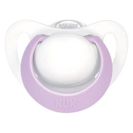 Nuk sucette silicone genius fille taille 0 0-2mois - nuk -214968