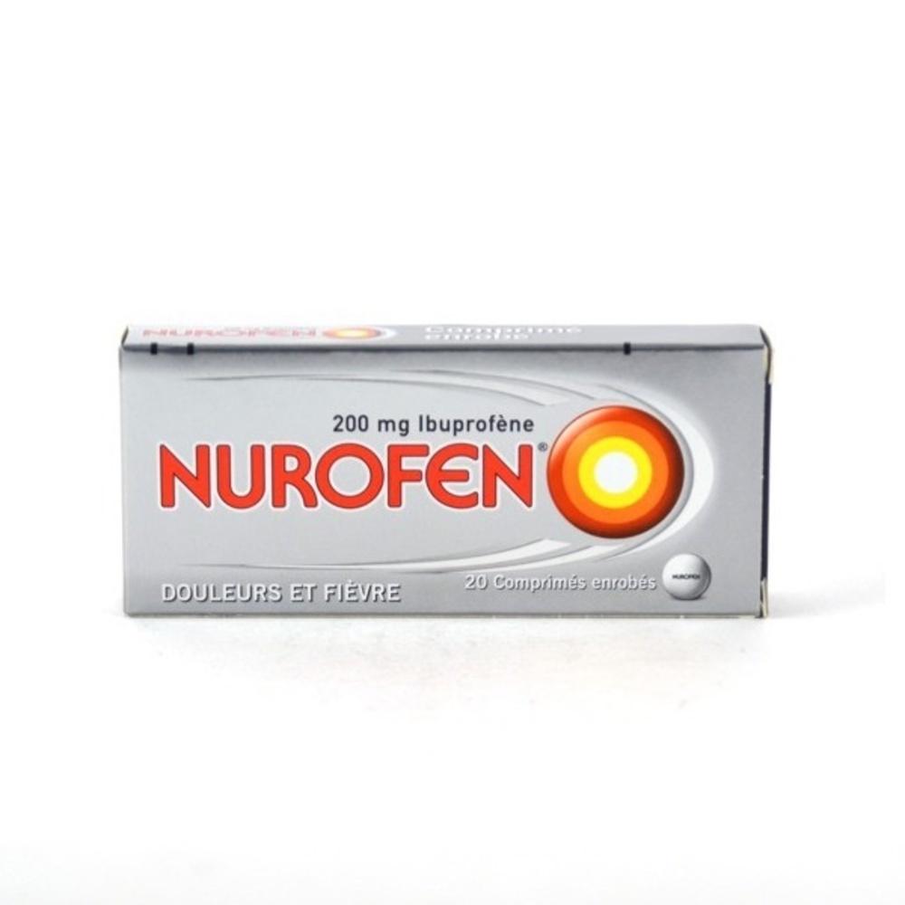 Nurofen 200mg - 20 comprimés Reckitt benckiser-192861