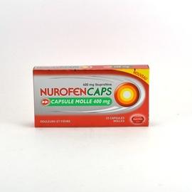 Nurofencaps 400mg - 10 capsules - reckitt benckiser -192591