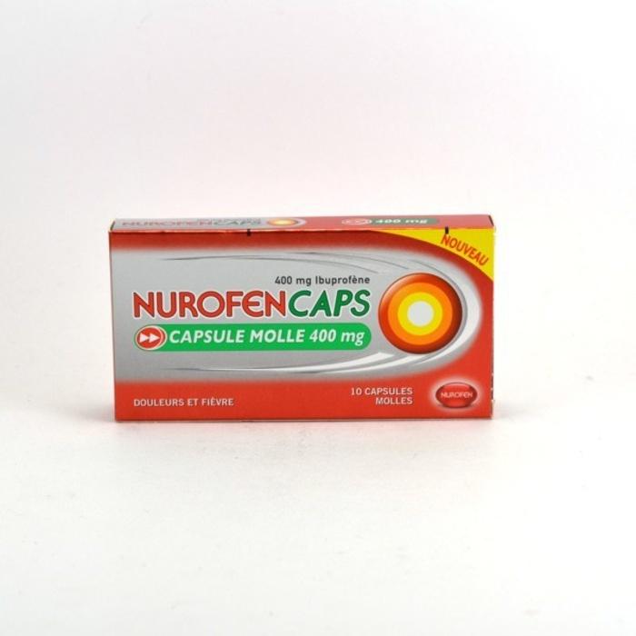 Nurofencaps 400mg - 10 capsules Reckitt benckiser-192591