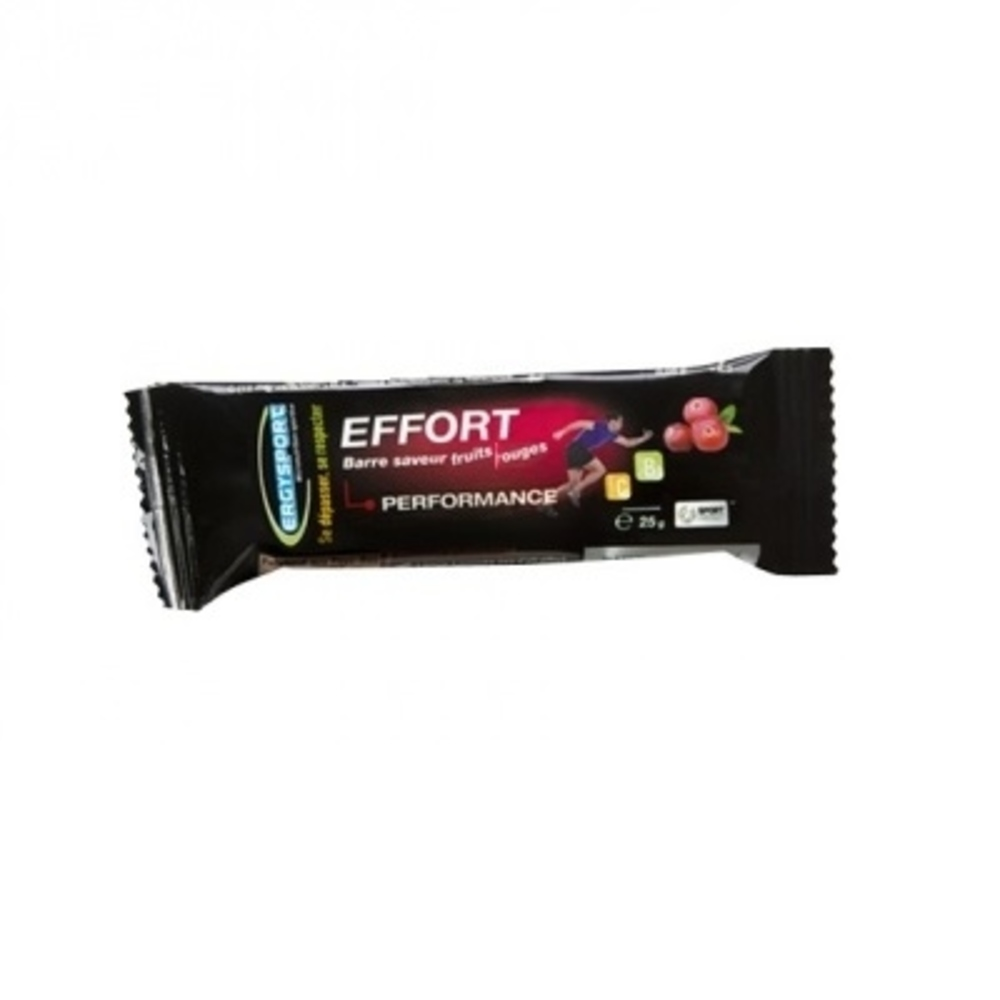 Nutergia ergysport effort barre fruits rouges - nutergia -201042