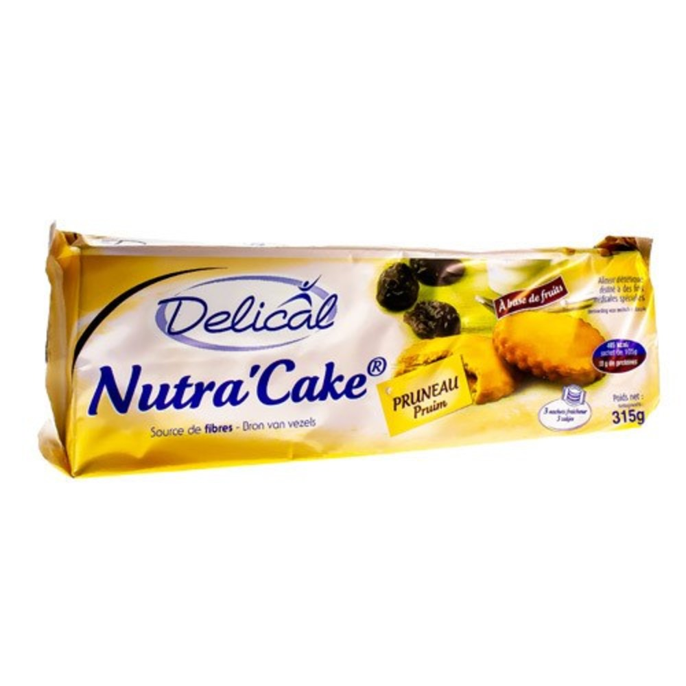 Nutra'cake biscuits au pruneau Délical-149354