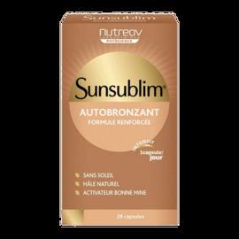 Nutreov sunsublim autobronzant 28 capsules - nutreov -203039