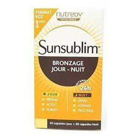 Nutreov sunsublim bronzage jour nuit 60 capsules - nutreov -225907