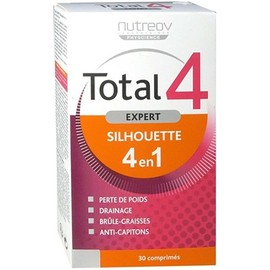 Nutreov total 4 expert silhouette 4 en 1 - 30 comprimés - nutreov -214058