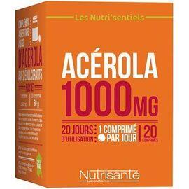 Nutrisante acérola 1000mg 20 comprimés - nutrisanté -219596