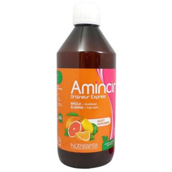 Nutrisante amincir draineur express goût agrumes 500ml Nutrisanté-214033