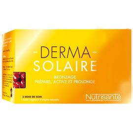 Nutrisante derma solaire autobronzant 120 capsules - nutrisanté -214034